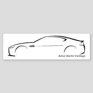 Aston Martin Vantage Bumper Sticker