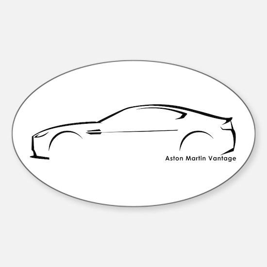 Aston Martin Vantage Oval Decal