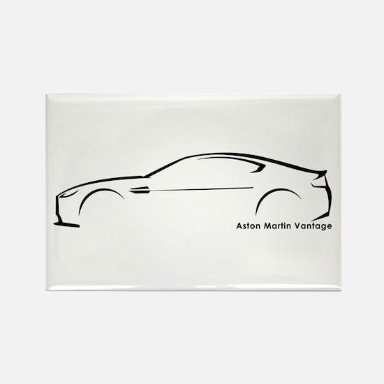 Aston Martin Vantage Rectangle Magnet
