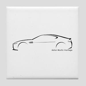 Aston Martin Vantage Tile Coaster