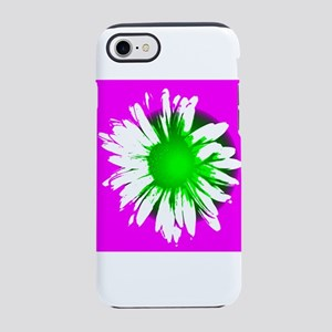 Purple and Green Daisy iPhone 7 Tough Case