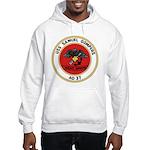 USS Samuel Gompers (AD 37) Hooded Sweatshirt