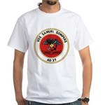 USS Samuel Gompers (AD 37) White T-Shirt