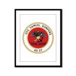 USS Samuel Gompers (AD 37) Framed Panel Print
