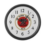 USS Samuel Gompers (AD 37) Large Wall Clock