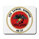 USS Samuel Gompers (AD 37) Mousepad