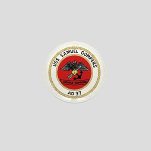 USS Samuel Gompers (AD 37) Mini Button