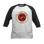 USS Samuel Gompers (AD 37) Kids Baseball Jersey
