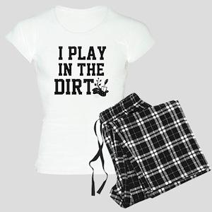I Play in the Dirt (black/light) Pajamas