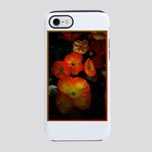 Orange Poppies iPhone 7 Tough Case