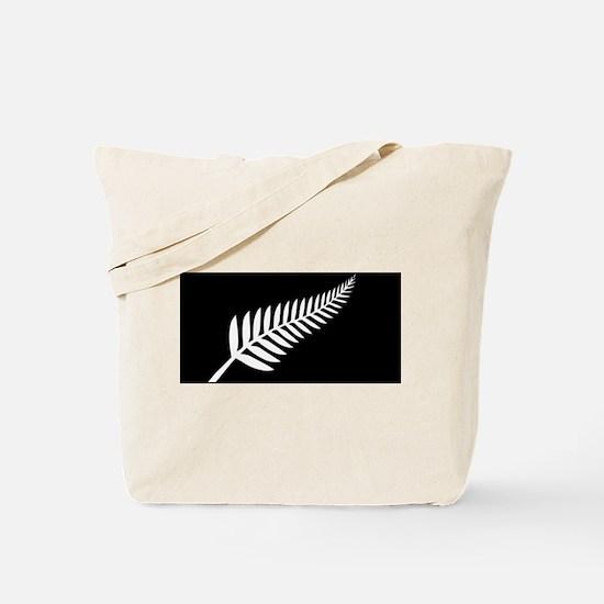Silver Fern Flag Tote Bag