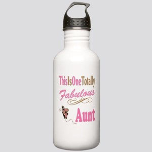 Totally Fabulous Aunt Stainless Water Bottle 1.0L
