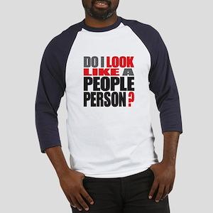 People Person Baseball Jersey