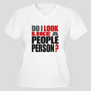 People Person Women's Plus Size V-Neck T-Shirt