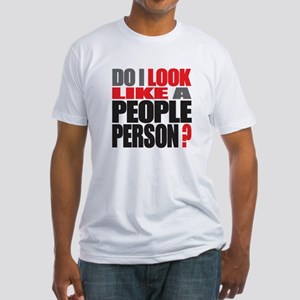 People Person Fitted T-Shirt