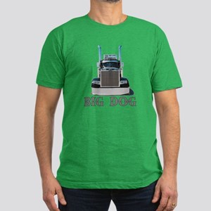 Big Dog Men's Fitted T-Shirt (dark)