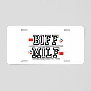 BIFF - MILF, PHILLIPINES Aluminum License Plate
