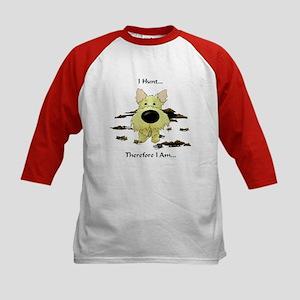Cairn Terrier - I Hunt... Kids Baseball Jersey