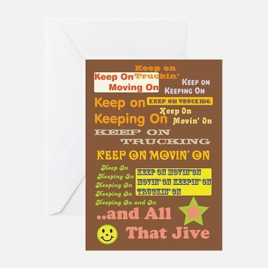 70s Optimism Greeting Card