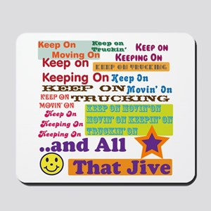 70s Optimism Mousepad