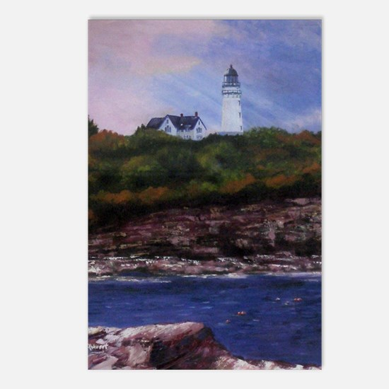 Two Lights Postcards (Package of 8)