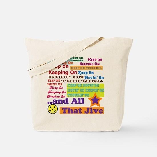 70s Optimism Tote Bag