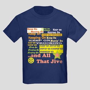 70s Optimism Kids Dark T-Shirt