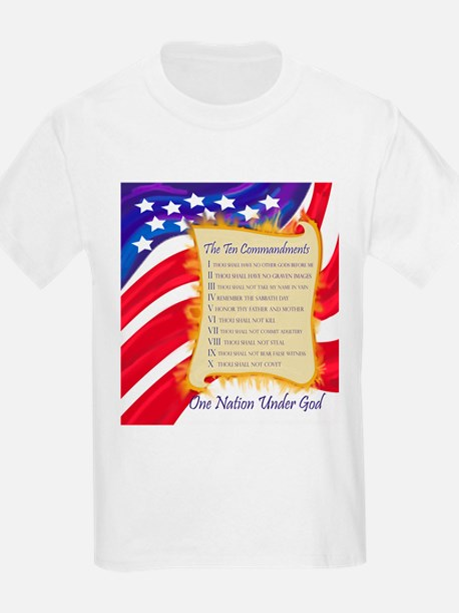 Ten Commandments Kids T-Shirt