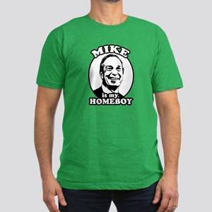 Mike Bloomberg is my homeboy Men's Fitted T-Shirt