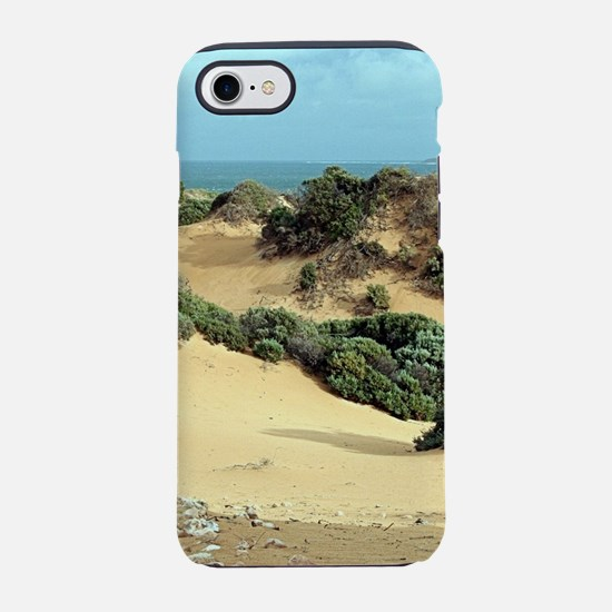Windswept sand dunes, Australi iPhone 7 Tough Case