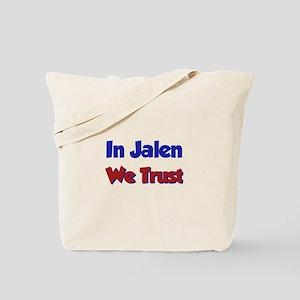 In Jalen We Trust Tote Bag