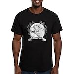 Labrador Retriever Men's Fitted T-Shirt (dark)