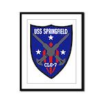 USS Springfield (CLG 7) Framed Panel Print