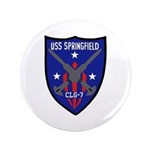 """USS Springfield (CLG 7) 3.5"""" Button (100 pack)"""