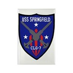 USS Springfield (CLG 7) Rectangle Magnet