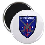 """USS Springfield (CLG 7) 2.25"""" Magnet (10 pack)"""