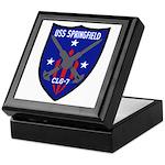 USS Springfield (CLG 7) Keepsake Box