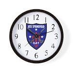 USS Springfield (CLG 7) Wall Clock