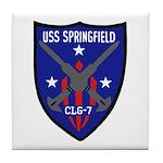 USS Springfield (CLG 7) Tile Coaster