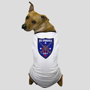 USS Springfield (CLG 7) Dog T-Shirt