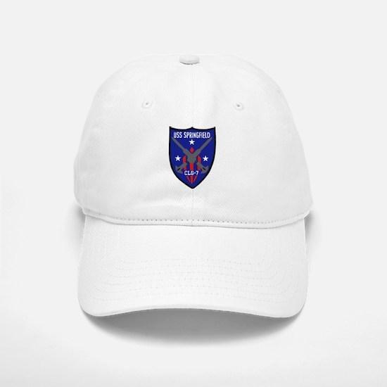 USS Springfield (CLG 7) Baseball Baseball Cap