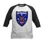 USS Springfield (CLG 7) Kids Baseball Jersey