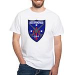 USS Springfield (CLG 7) White T-Shirt
