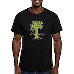 Tree Hugger Shirt Men's Fitted T-Shirt (dark)