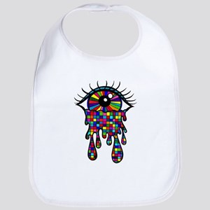 Cry Me A Rainbow Bib