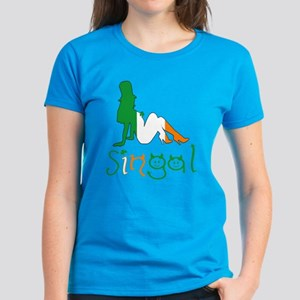 Single Irish girl Women's Dark T-Shirt