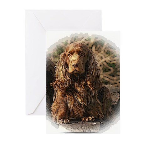 Sussex Spaniel sympathy cards