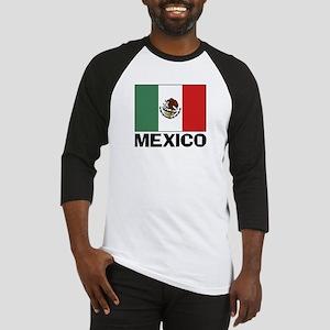 Mexican Flag Baseball Jersey