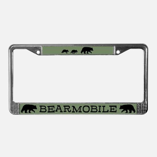 Bearmobile License Plate Frame