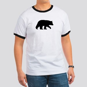 Black Bear Ringer T